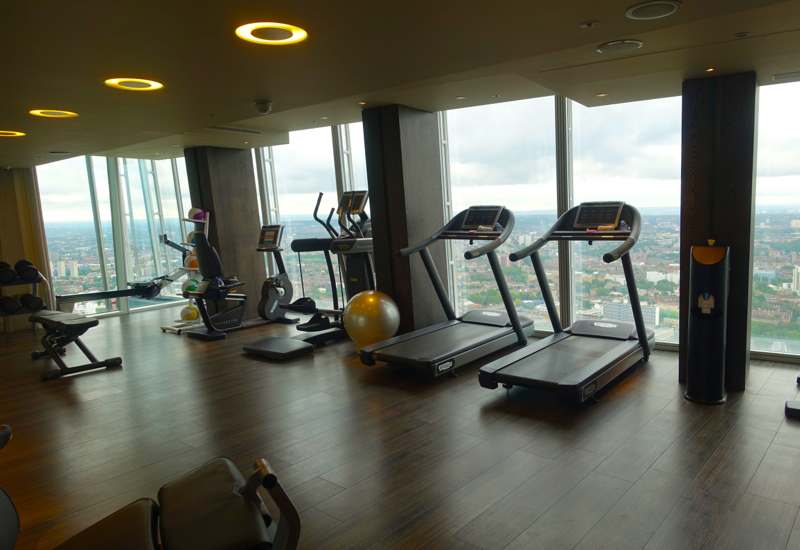 Fitness Center, Shangri-La at The Shard London Review