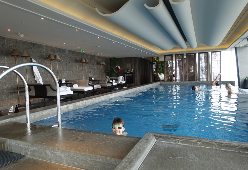 Pool, Shangri-La at The Shard London Review
