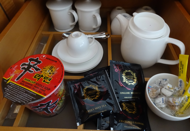Teapot and Tea Cups with Covers, Shangri-La at The Shard London Review