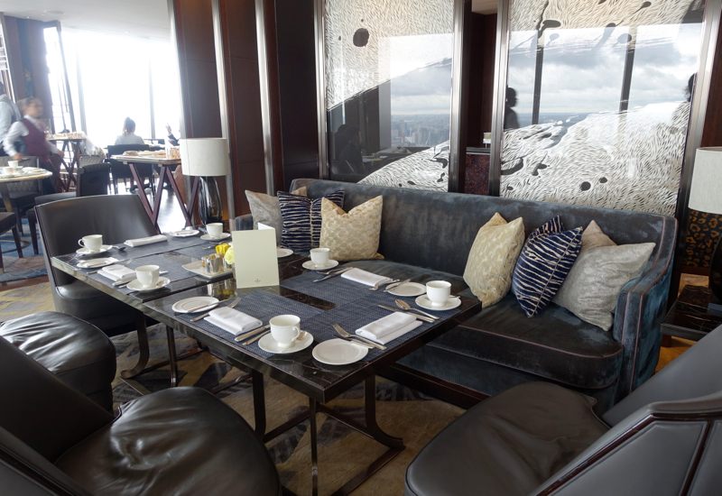 TING Seating, Shangri-La London at The Shard Review