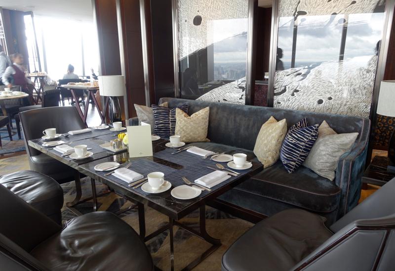TING Seating, Shangri-La London at The Shard Review