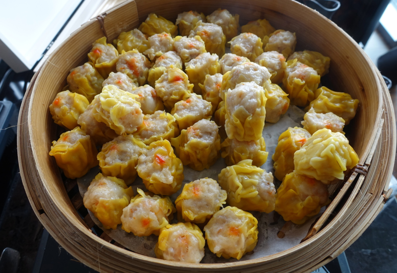 Shumai, TING Breakfast Buffet, Shangri-La at The Shard, London Review