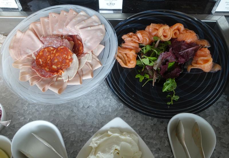Smoked Salmon, TING Breakfast, Shangri-La London Review