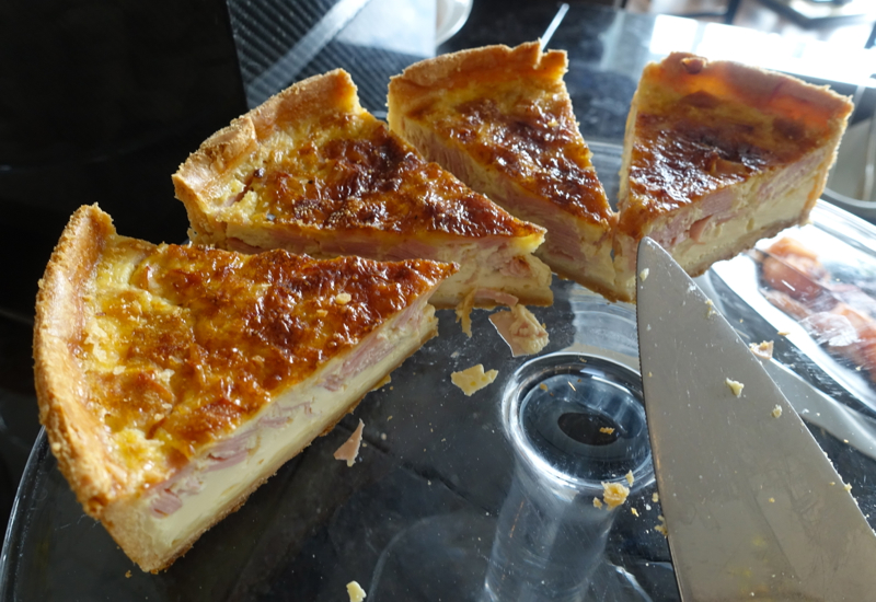 Quiche, TING Breakfast at Shangri-La London Review