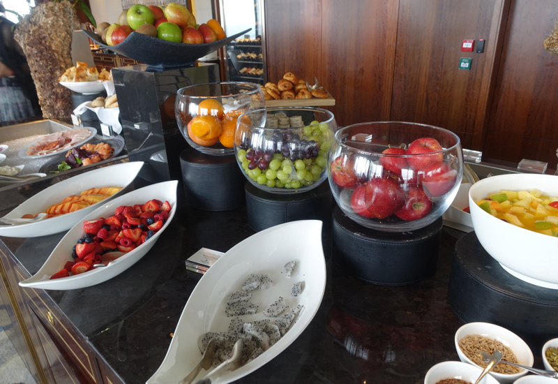 Fresh Fruit, TING Breakfast Buffet at the Shangri-La, London Review