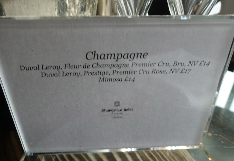Champagne at Additional Cost, TING Breakfast Buffet