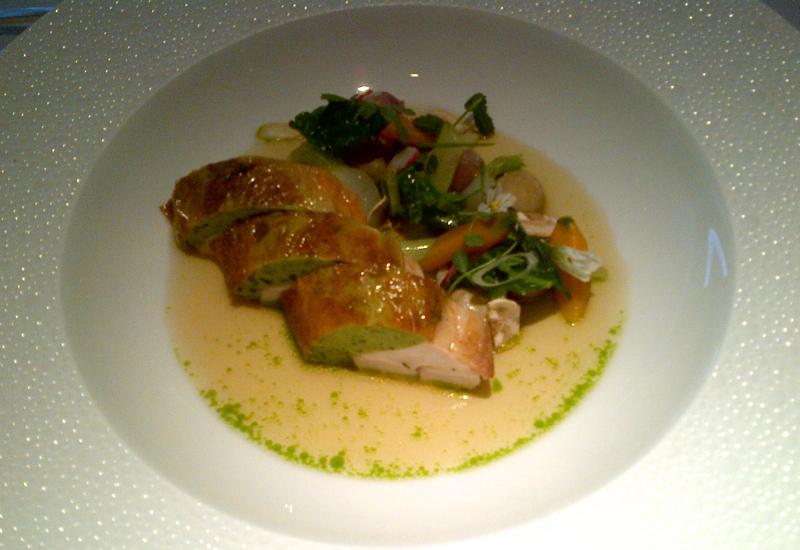 Roast Norfolk Black Leg Chicken, Restaurant Gordon Ramsay London Review
