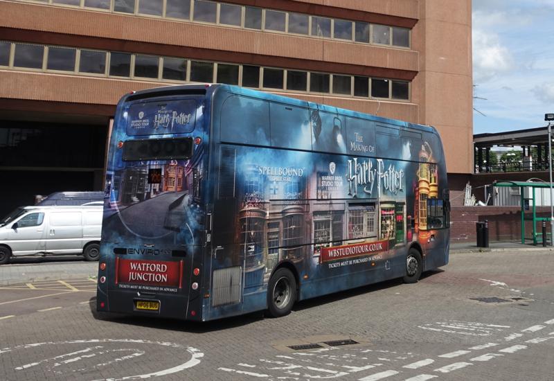Bus to Harry Potter Studio Tour