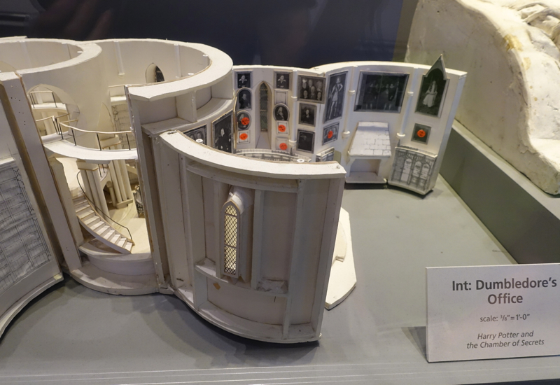 Scale Model of Dumbledore's Office