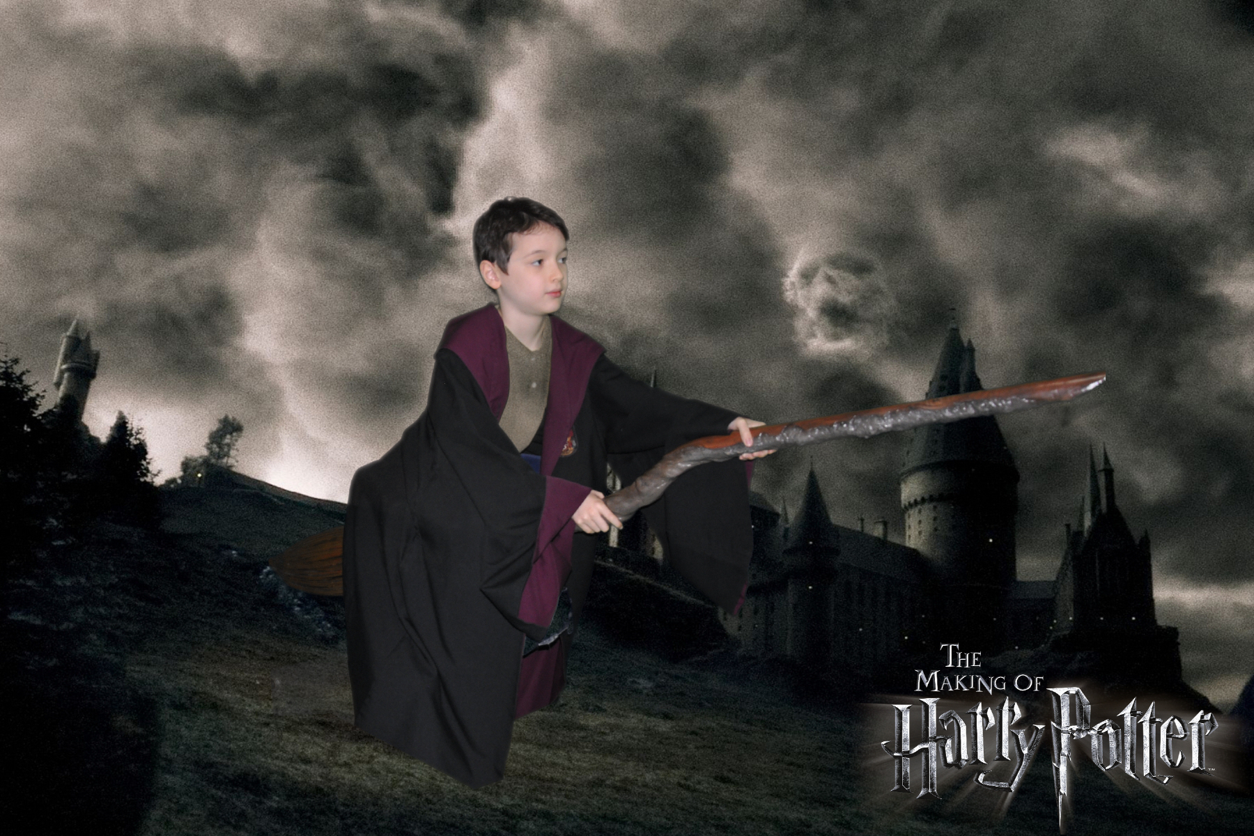 Riding a Broomstick, Harry Potter Studio Tour Review