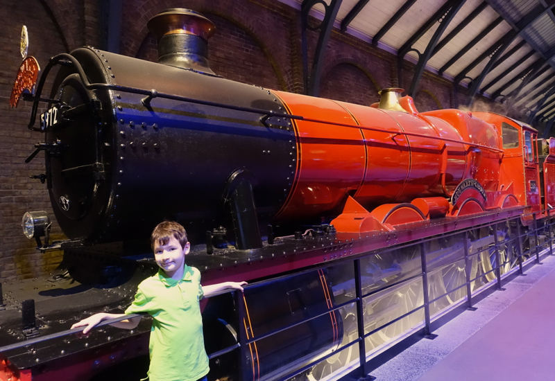 All Aboard the Hogwarts Express Train!
