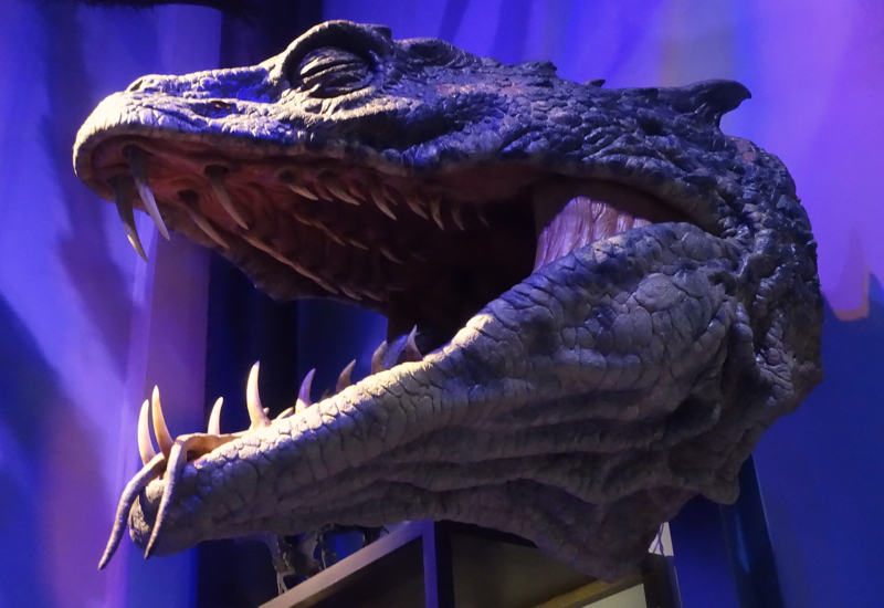 Basilisk Head, Harry Potter Studio Tour Review