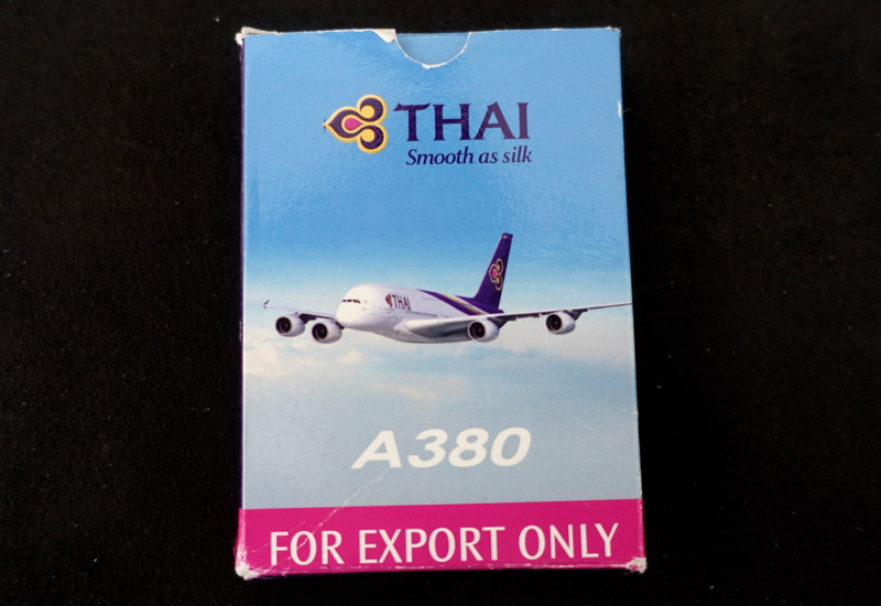 Thai Airways A380 First Class Playing Cards