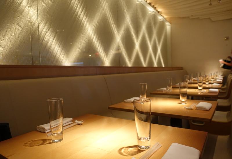 Upstairs Seating Area, Morimoto New York Review