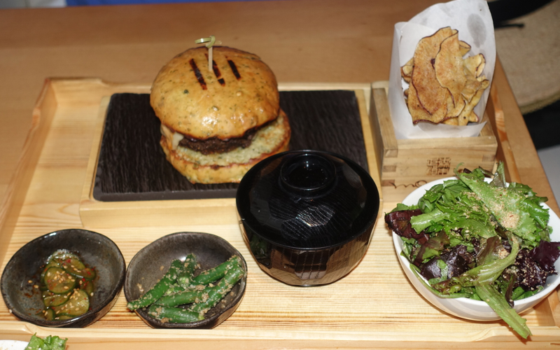 Morimoto Burger Lunch, NYC Restaurant Week Review