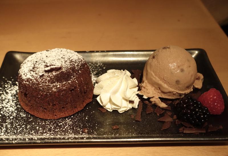 Chocolate Fondant Dessert, Morimoto New York Review