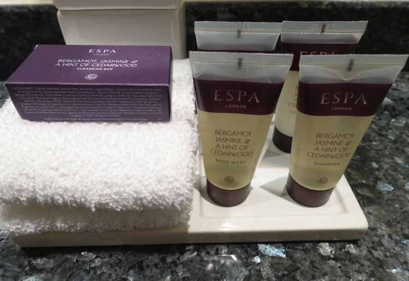 Espa Bath Products, Sofitel London Heathrow Review