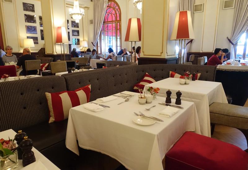 Breakfast, Cafe Astoria at Hotel Astoria, St. Petersburg Russia