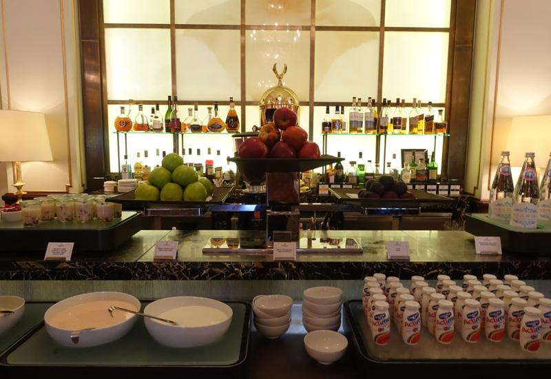 Fresh Fruit and Yogurt, Cafe Astoria Buffet Breakfast Review