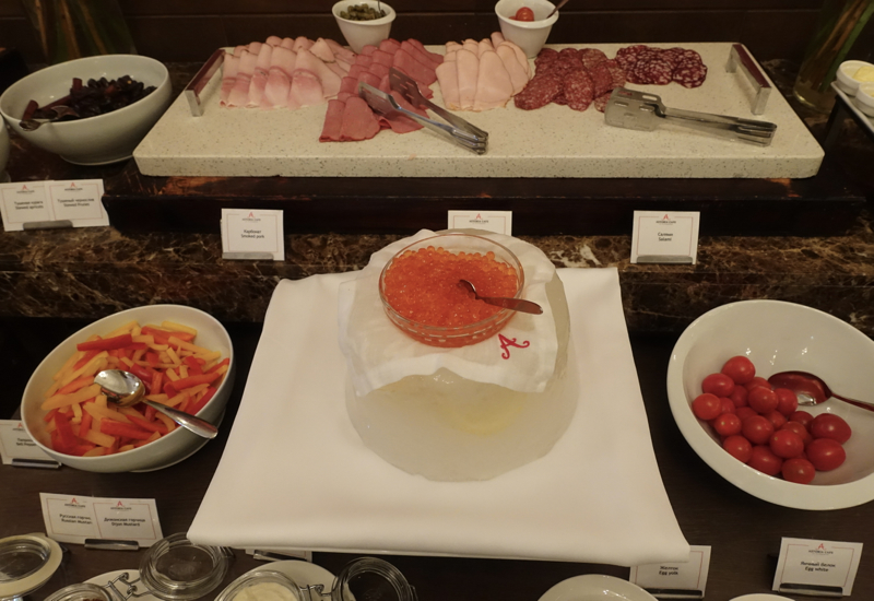 Cold Cuts and Caviar, Cafe Astoria Breakfast Buffet Review