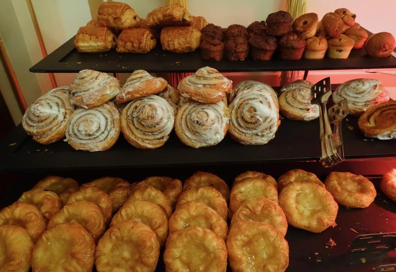 Pastries, Cafe Astoria Breakfast Buffet Review, St. Petersburg