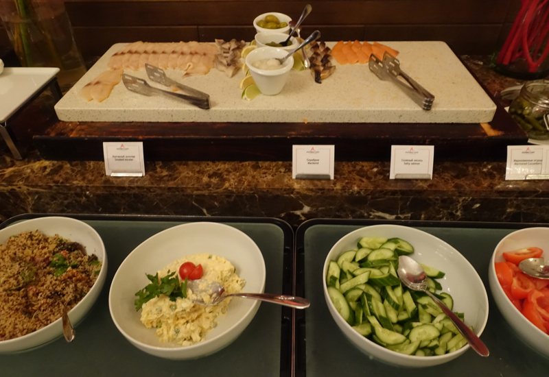 Smoked Fish, Cafe Astoria Breakfast Buffet Review