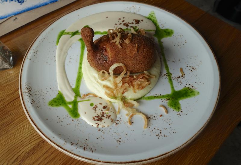 Chicken Kiev Sous Vide, Taste to Eat Review, St. Petersburg
