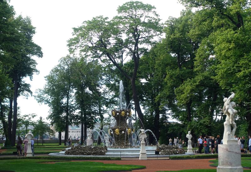 Crown Fountain, Summer Garden, St. Petersburg Russia