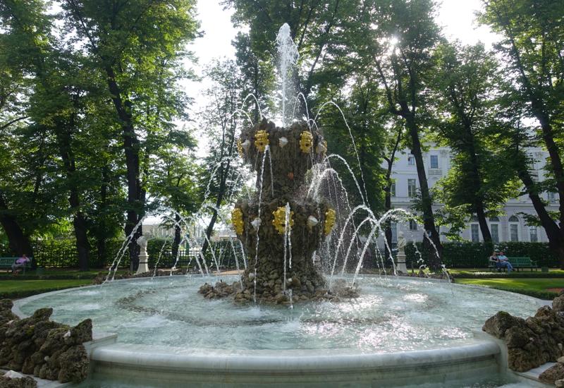 Crown Fountain, Summer Garden, St. Petersburg