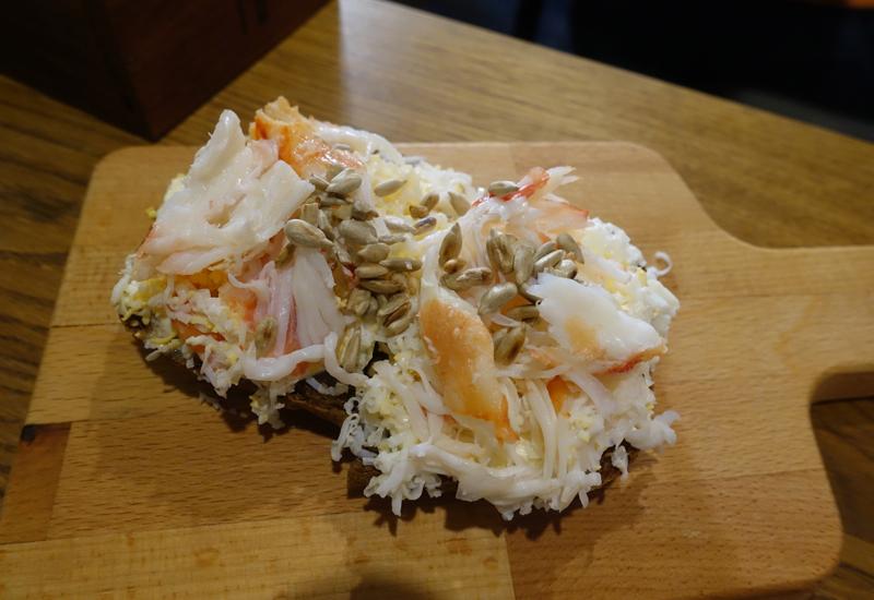 Crab Bruschetta, Duo Gastrobar St Petersburg Review