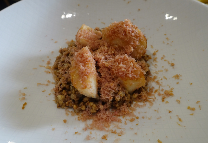 Scallops with Buckwheat, Duo Gastrobar Review, St. Petersburg