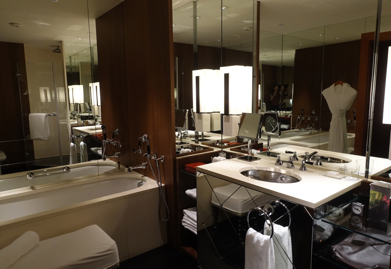 Park Room Bathroom, Park Hyatt Moscow Review