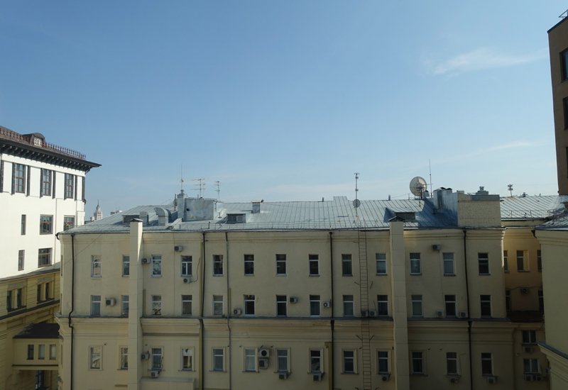 View from Park King Room, Ararat Park Hyatt Moscow Review