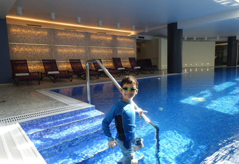 Swimming Pool, Park Hyatt Moscow Review