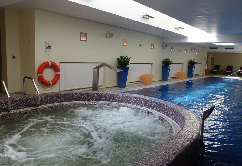 Jacuzzi whirlpool, Park Hyatt Moscow Review
