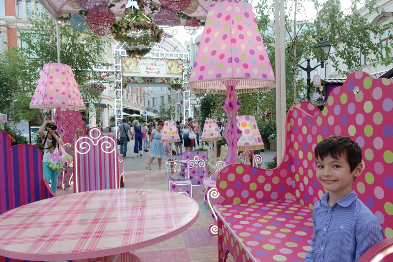 Summer in Moscow, Russia: Festive and Flower Filled