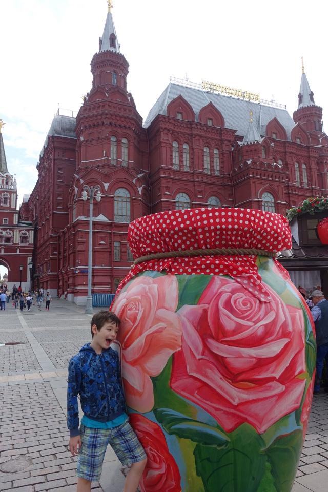 By a Giant Jam Jar, Moscow Jam Festival, Summer 2016