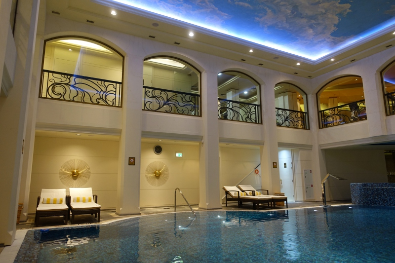 Swimming Pool, St. Regis Moscow Review