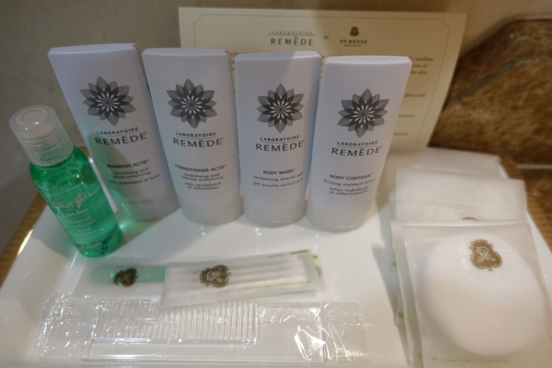 Remede Bath Products, St. Regis Moscow Review