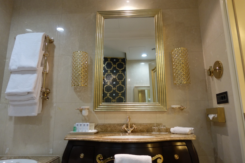 Superior Bathroom Sink, St. Regis Moscow Review