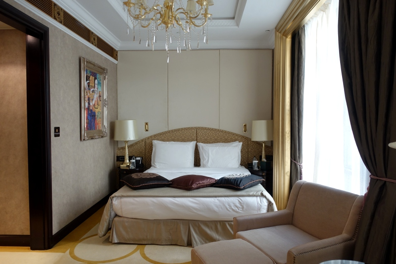 Superior King Bed, St. Regis Moscow Review