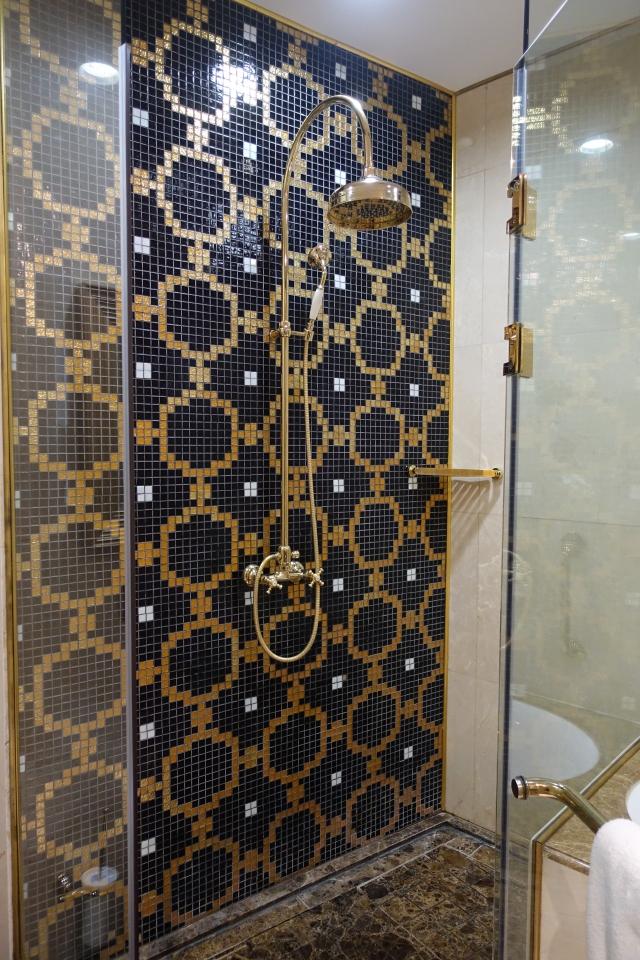 Superior Bathroom Rain Shower, St. Regis Moscow Review
