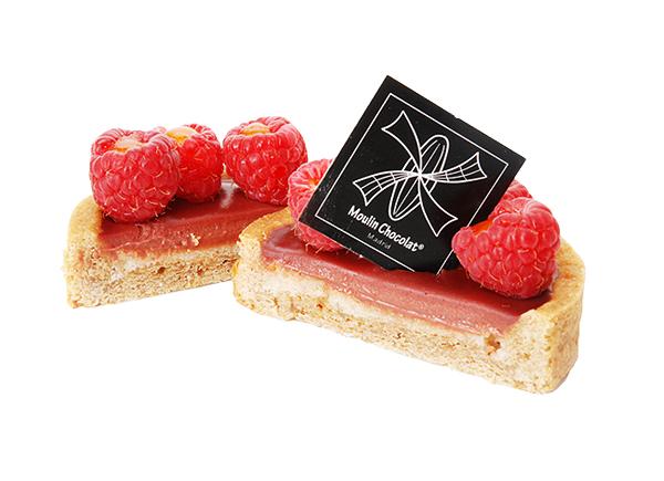 Chocolate raspberry tart, Moulin Chocolat, Madrid