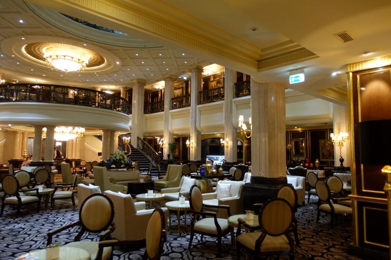 Lobby Lounge Seating, St. Regis Moscow Nikolskaya Review