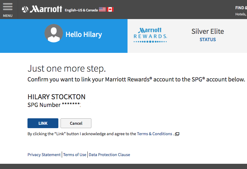 How to Link Your Marriott Rewards and SPG Accounts