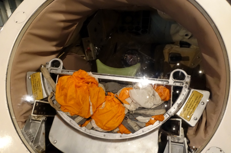 Vostok 1 Space Capsule, Space Museum, Moscow Review