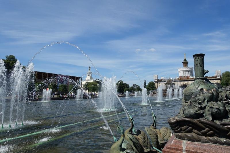 Stone Flower Fountain, VDNKh Moscow Review