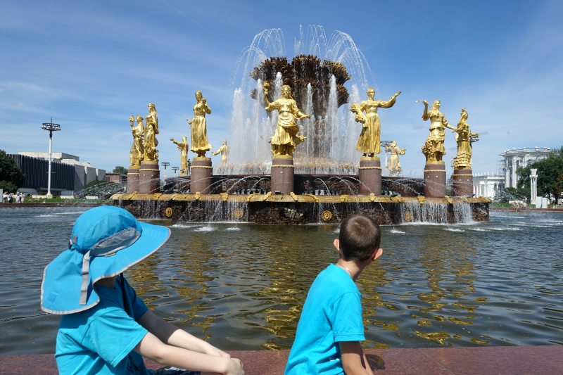 Peoples Friendship Fountain, VDNKh Review