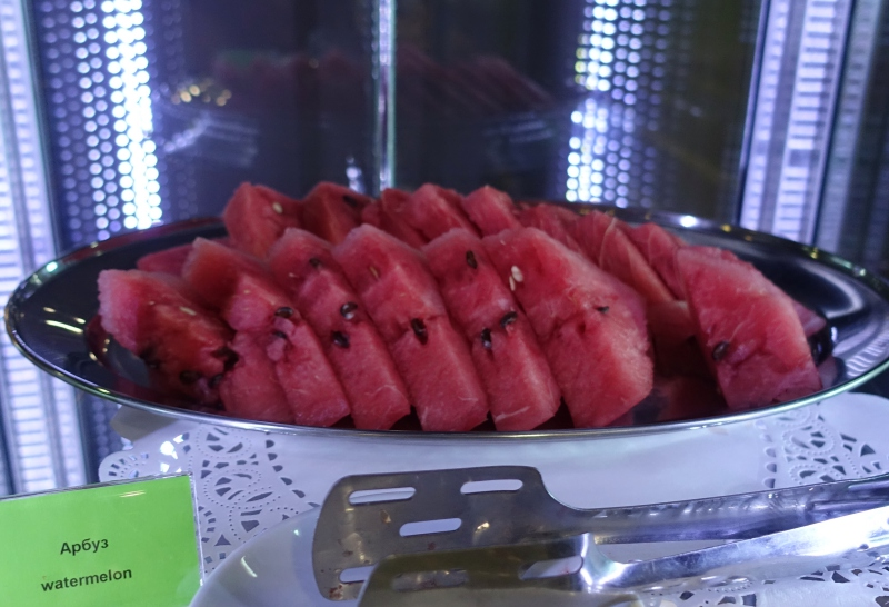 Watermelon, DME Airport Lounge Review