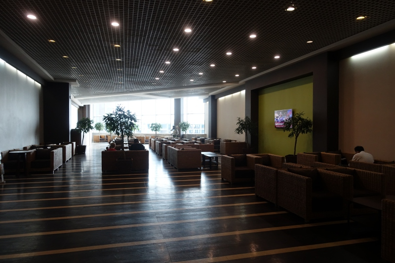 DME Business Class Airport Lounge Review